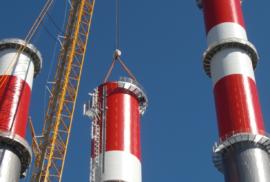 Gas-Dampfkraftwerk-Mellach-Modul-1-Harfenfertigung