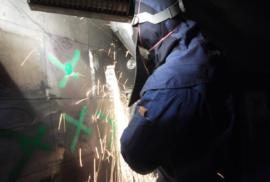 Sanierung-Laufradmantel-HM5-KW-Wallsee-2014