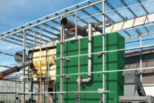 Biomasse Heizanlage