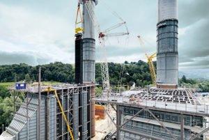 Kraftwerksanlage-Mellach