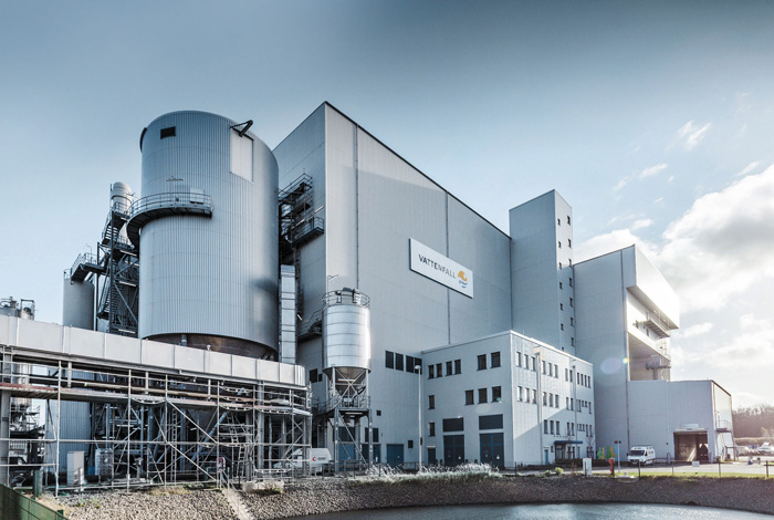 Rdf Fired Power Plant Rostock Christof Industries